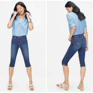 NYDJ Skinny Capri Cool Embrace Jeans Lift Tuck
